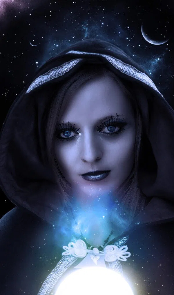 How to Create a Mystic Lady Photo Manipulation