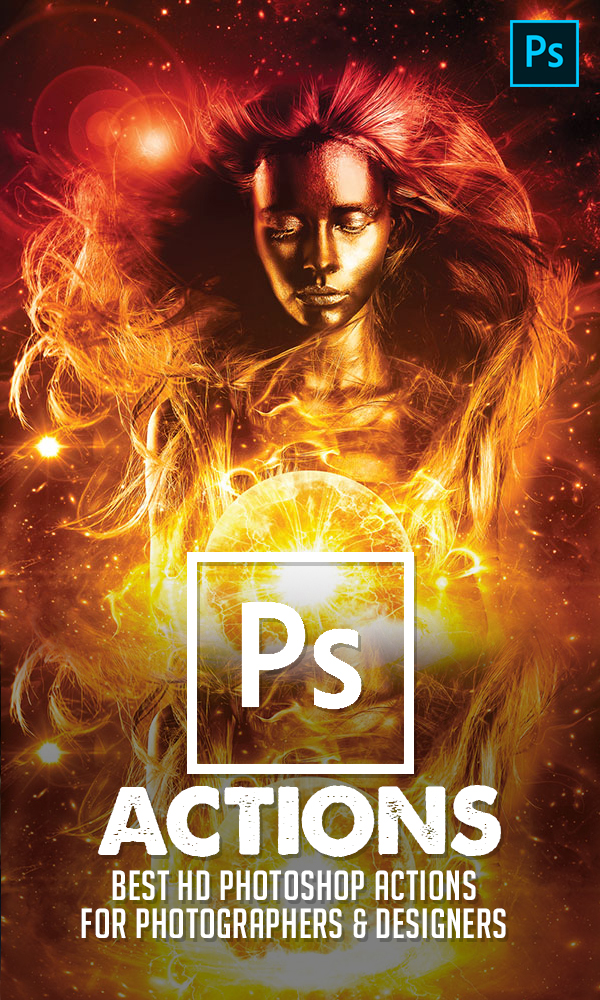 20 Best HD Photoshop Actions for Photographers and Designers