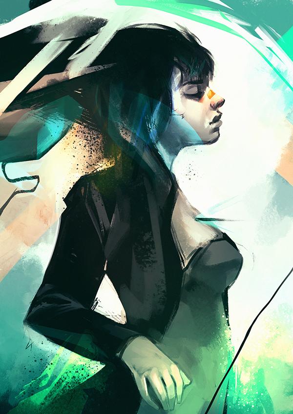 Digital Illustrations by Guilherme Asthma - 10