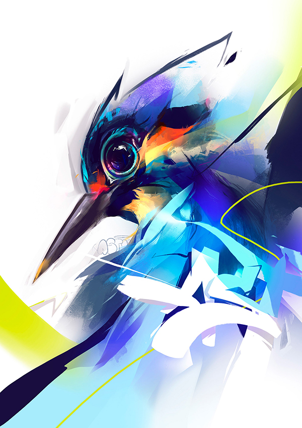 Digital Illustrations by Guilherme Asthma - 18