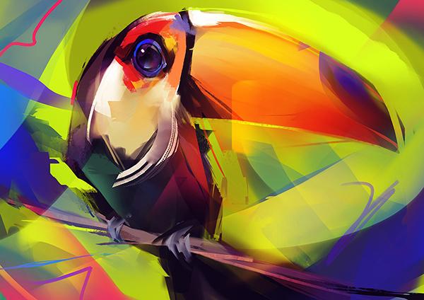 Digital Illustrations by Guilherme Asthma - 19