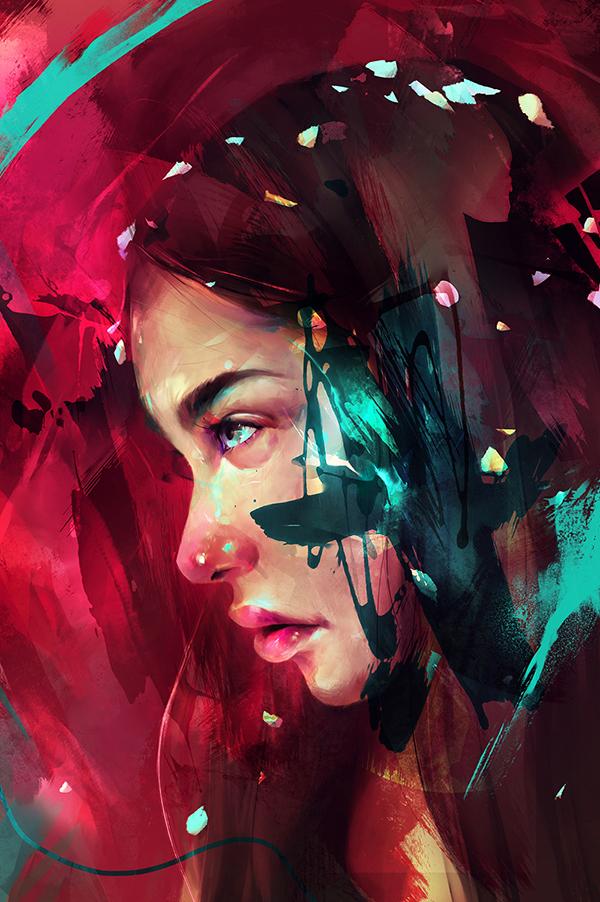 Digital Illustrations by Guilherme Asthma - 9