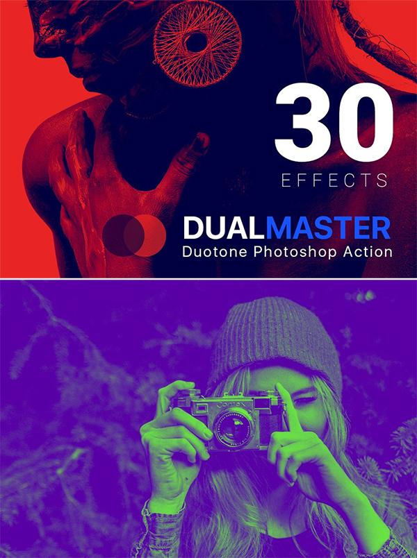 DualMaster Duotone Photoshop Action