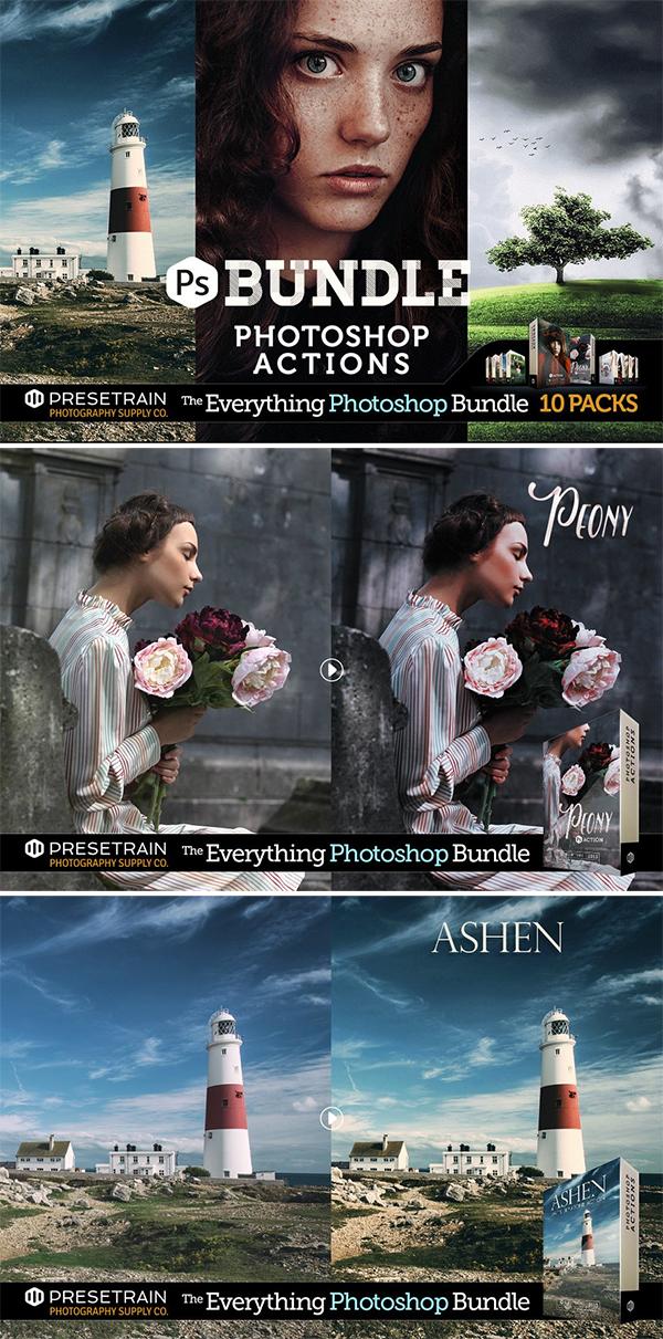 Pro Photoshop Actions Bundle