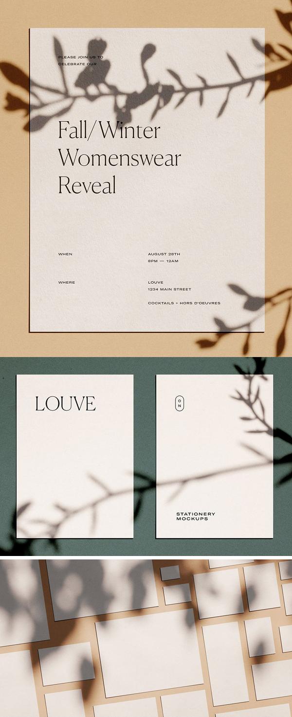Louve – (Mockup Kit) Scene Creator