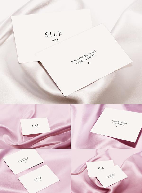 SILK – Business Card Mockup
