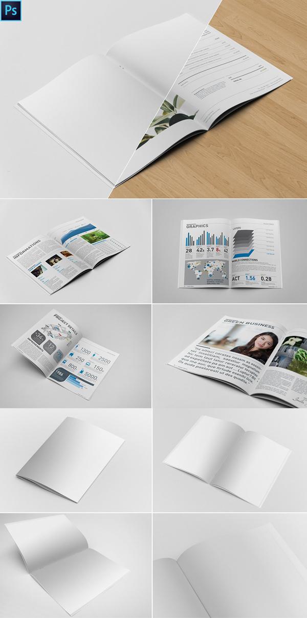 Creative Brochure Mockups
