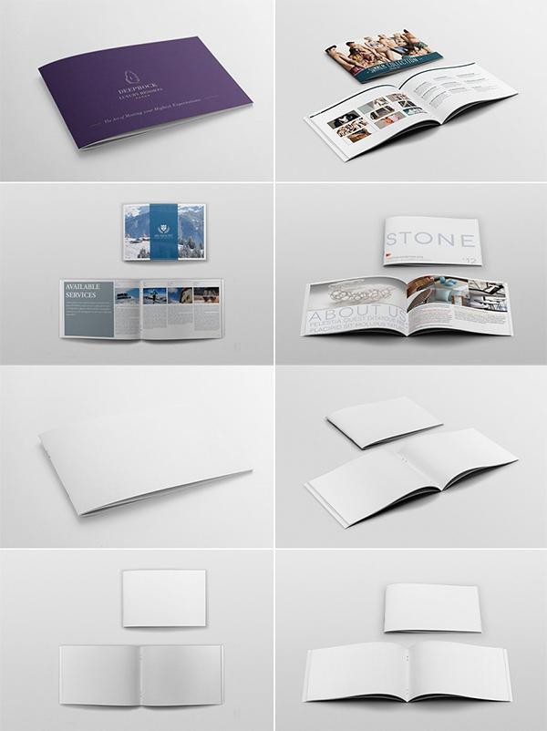 Elegant Brochure Mockups Bundle
