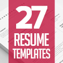 Post thumbnail of 27 Professional Resume Templates with Cover Letters
