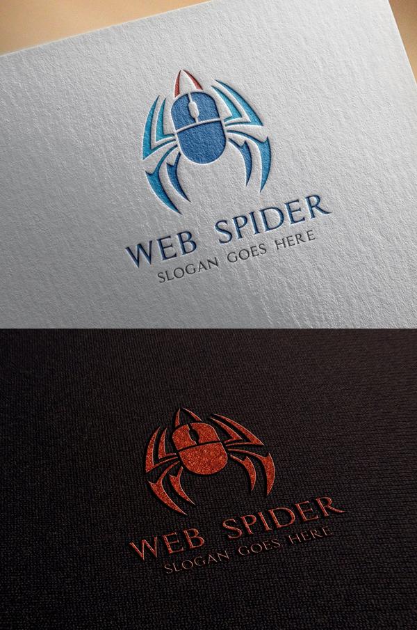 Web Spider Logo - 15