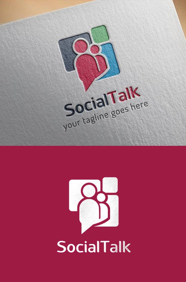Social Network Logo - 16