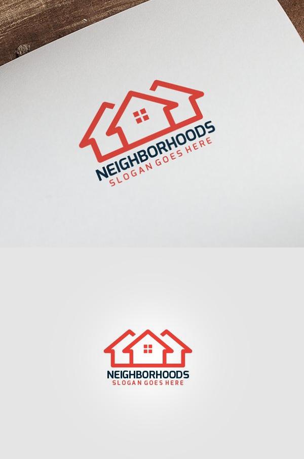 Simple Real Estate Logo - 19