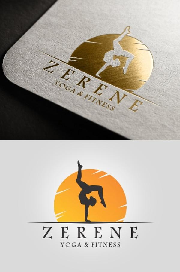 Yoga & Fitness Logo - 20