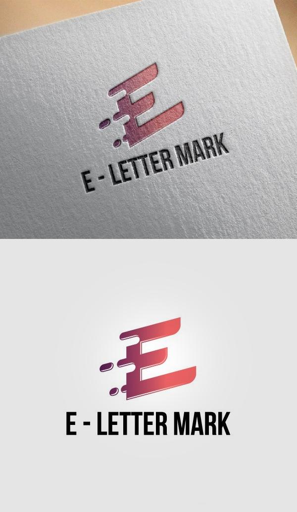 E - Letter Mark Business Strategy - 28