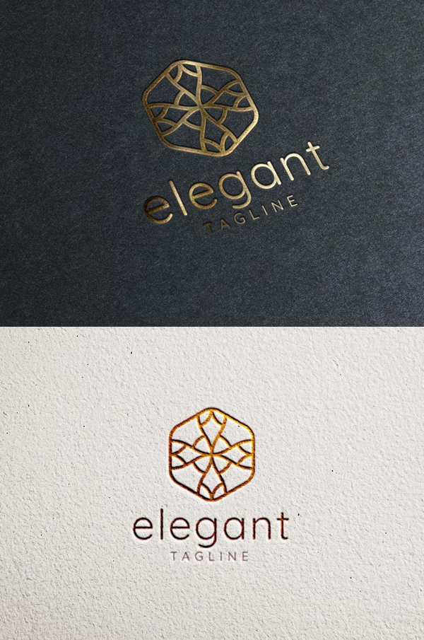 Elegant Logo PSD - 6