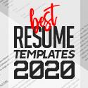 Post thumbnail of 30 Best CV / Resume Templates for 2020