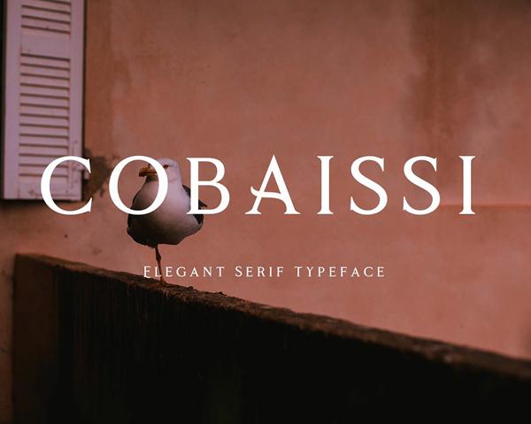 Cobaissi Serif Free Font