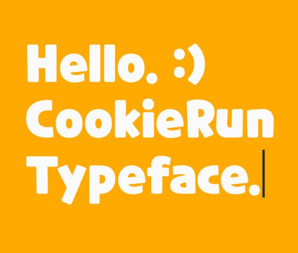 CookieRun Free Font