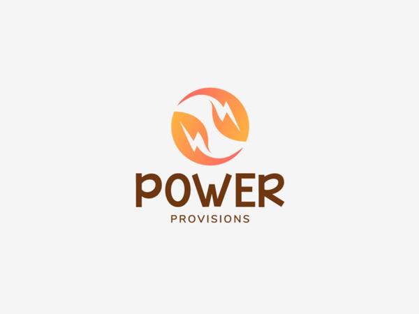 Power Provisions Logo Design