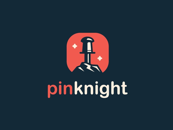 Pinknight Logo Design