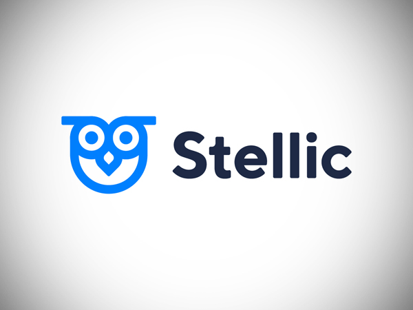 Stellic Logo Design