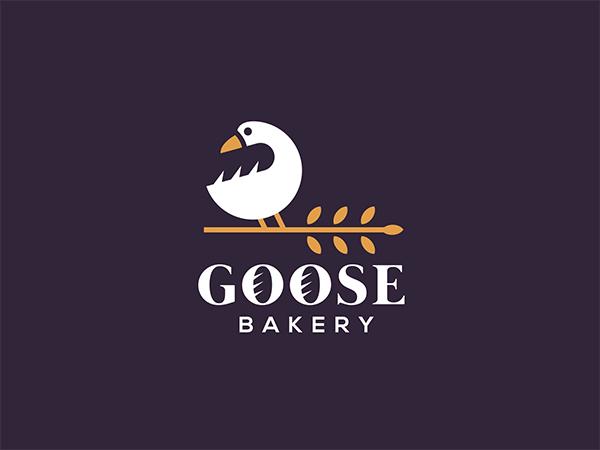 Goose Bakery Logo Design