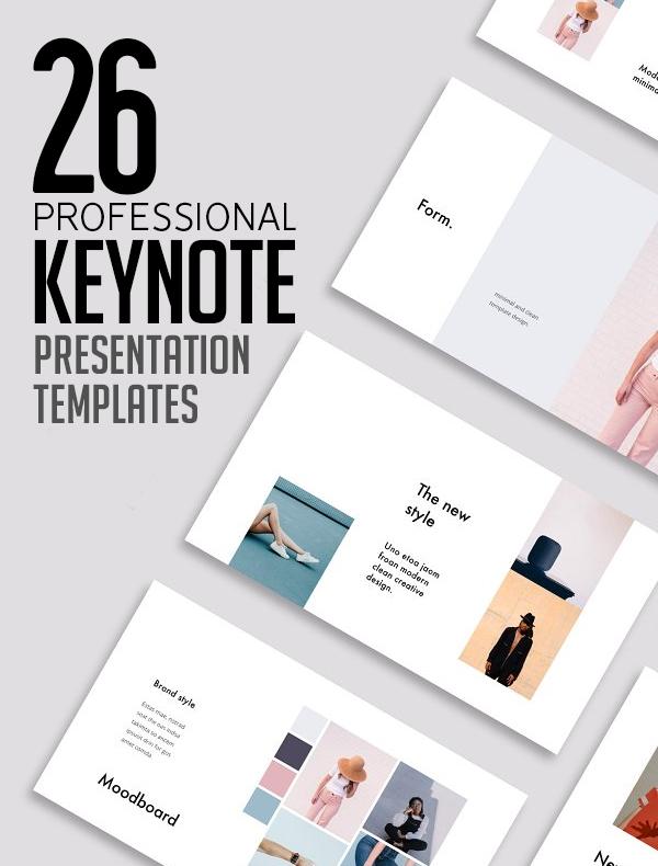 26 Professional Keynote Presentation Templates