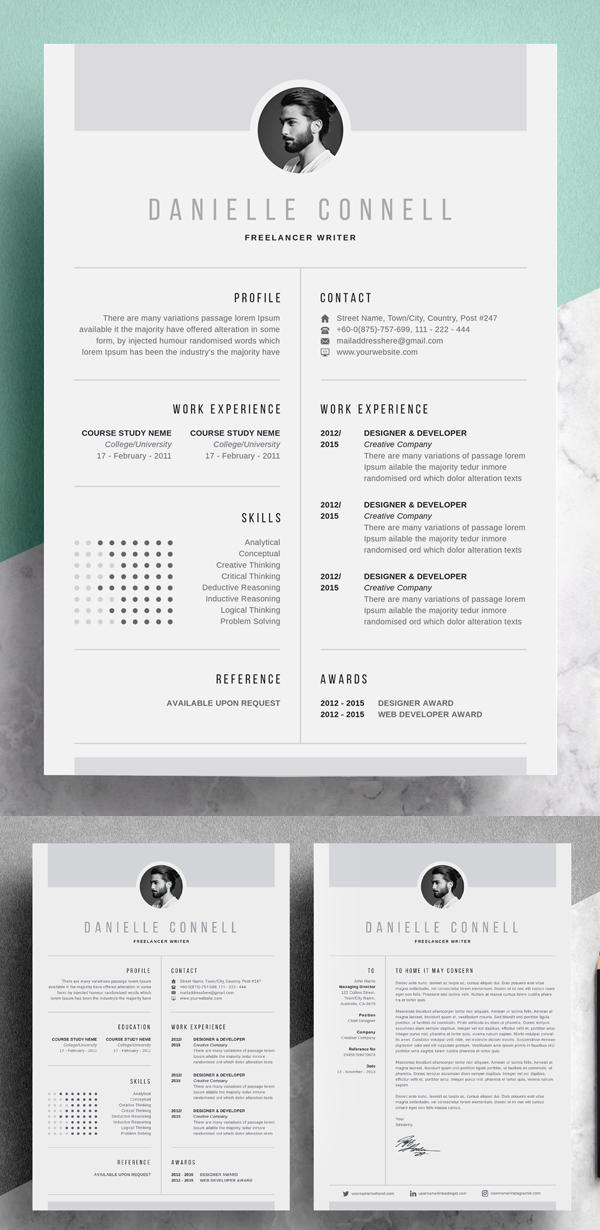 Simple Creative Resume | CV Design