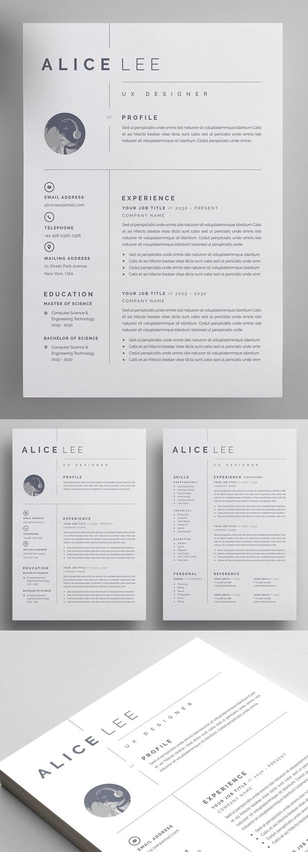 Elegant Resume CV