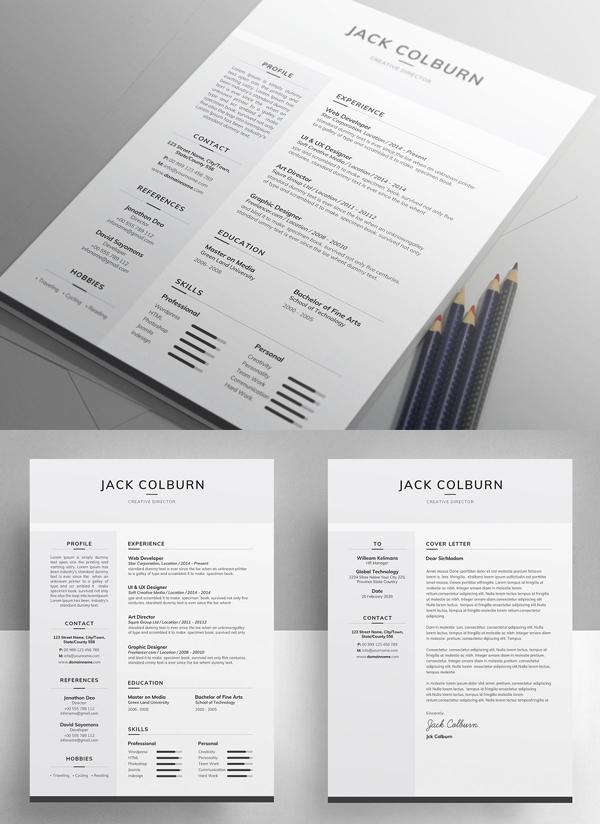 Resume / CV - Clean