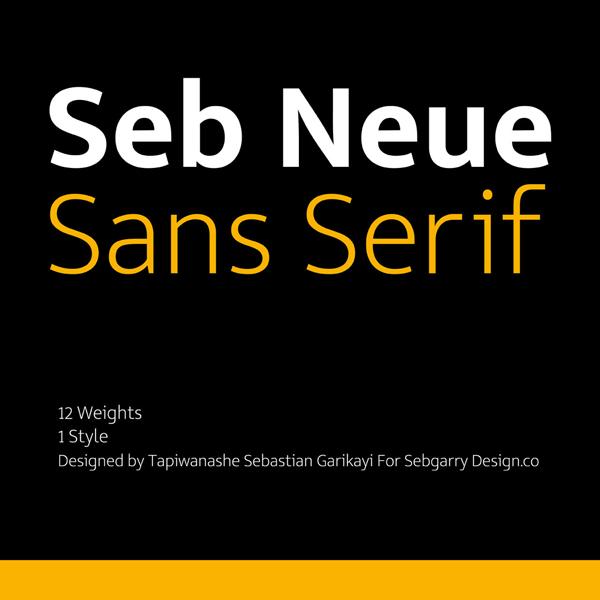 Seb Neue Free Font