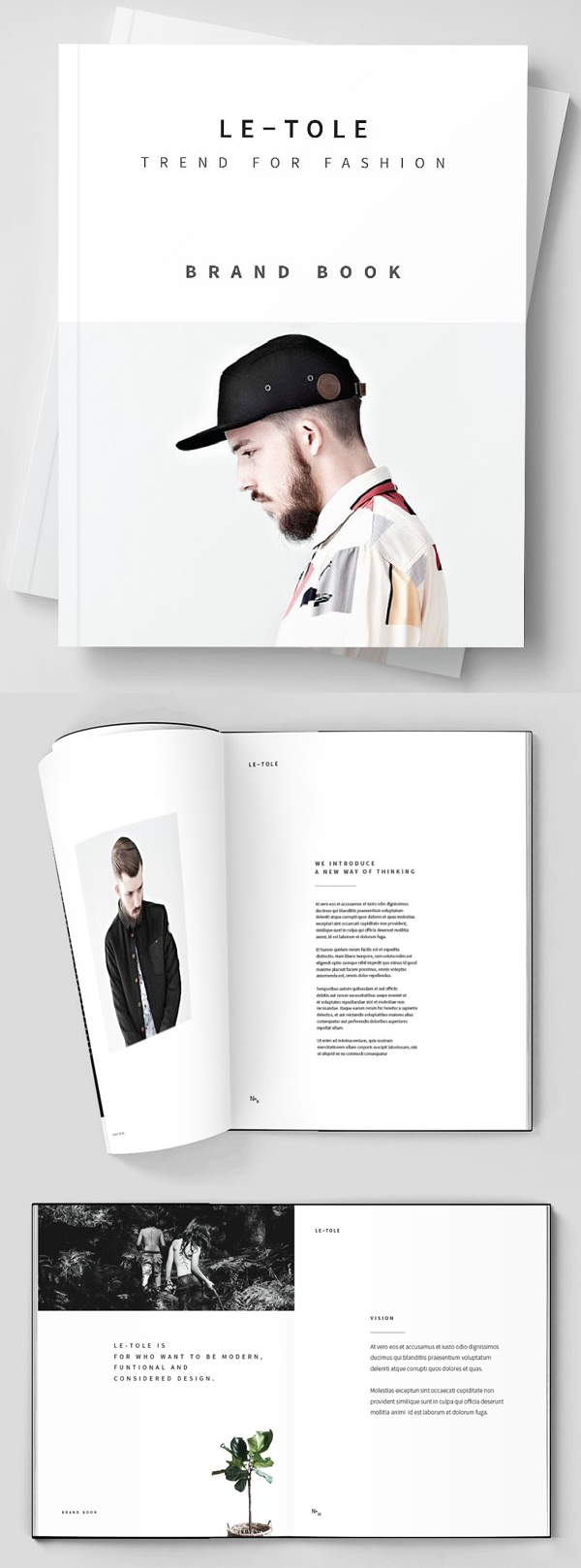 Fashion Brandbook Brochure Template