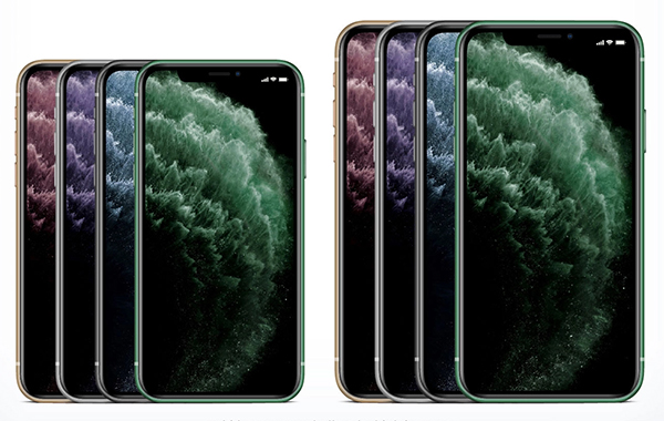 Free iPhone 11 Pro & iPhone 11 Pro Max Mockup PSD & Ai