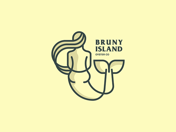45 Simple Line Art Minimal Logo Designs for Inspiration
