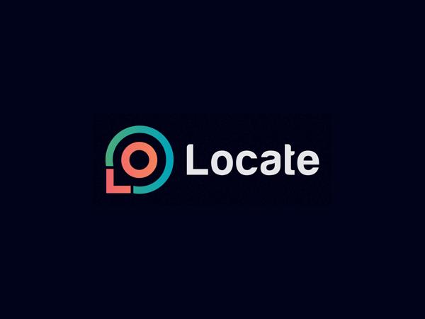 Combine L & O letter to Location Mark