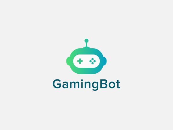 Gaming Bot   Branding Logo