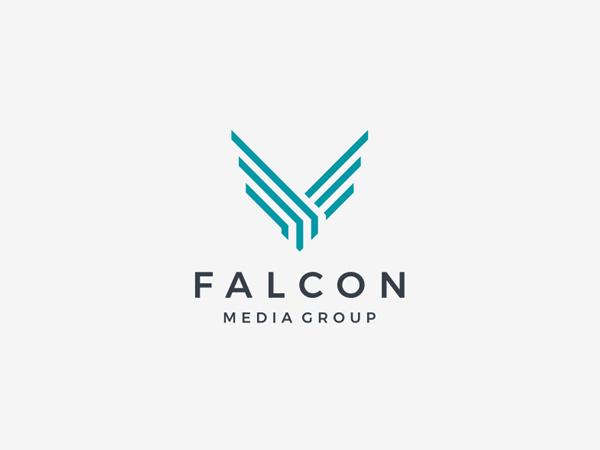 Falcon Logo for Falcon Media Group