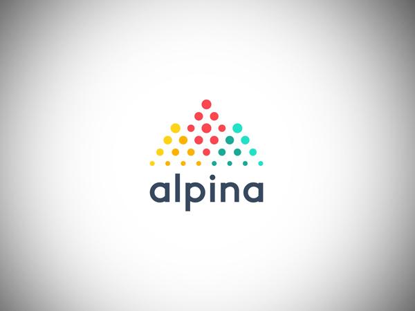 Alpina Logo Design