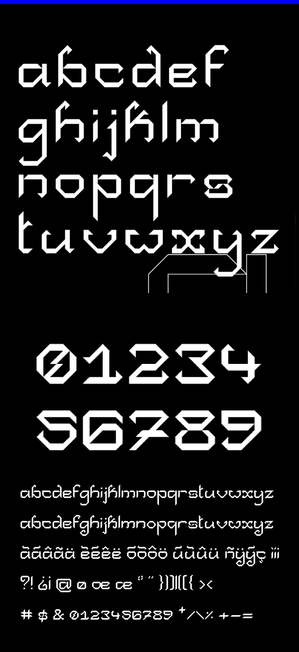 Collapse Font Letters