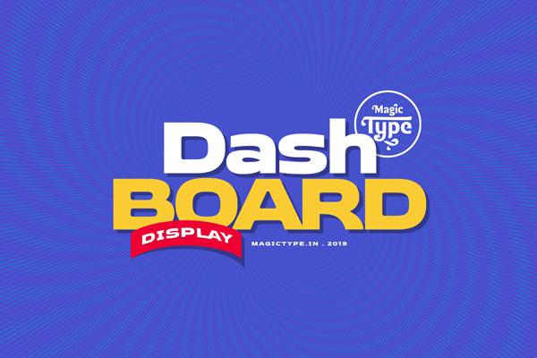 Dashboard Free Font