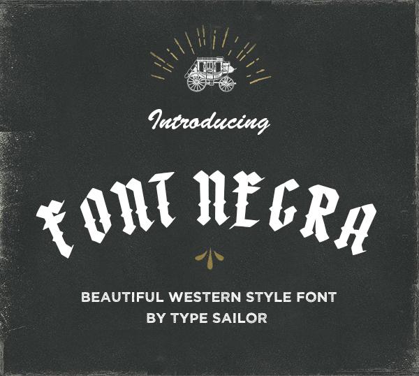 Font Negra Free Font