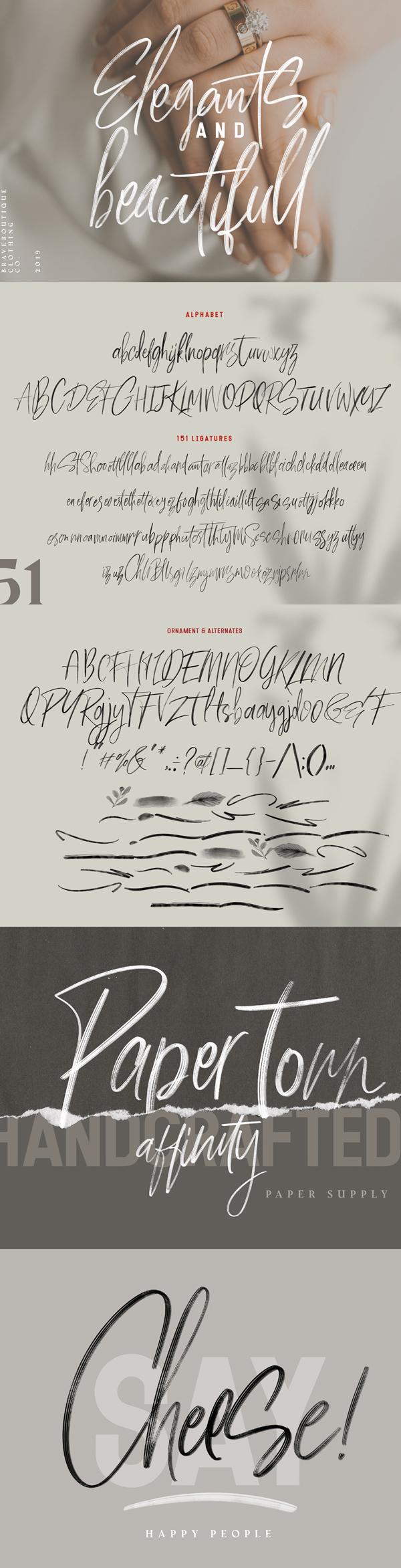Font Letters