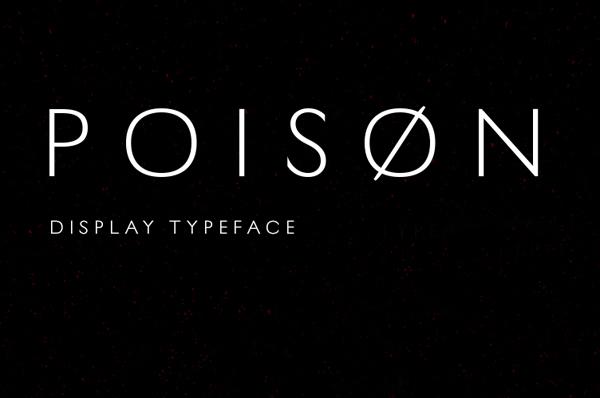 Poison Free Font