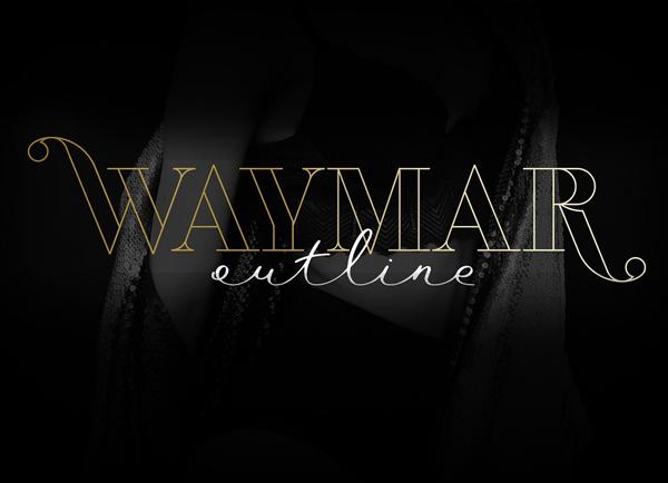 Waymar Outline Free Font