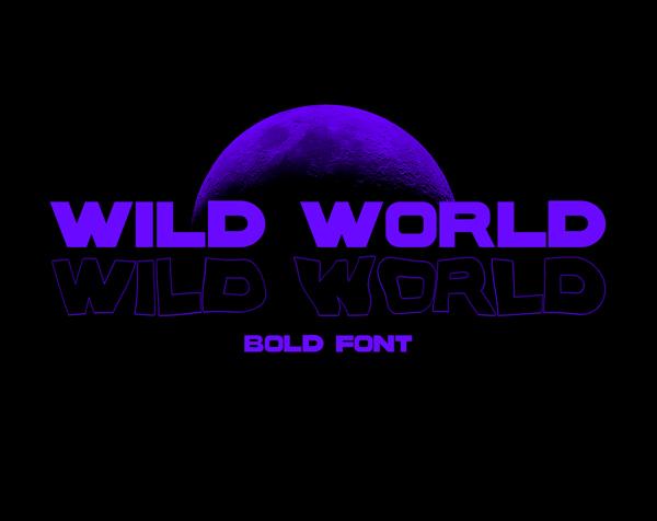 Wild World Bold Free Font