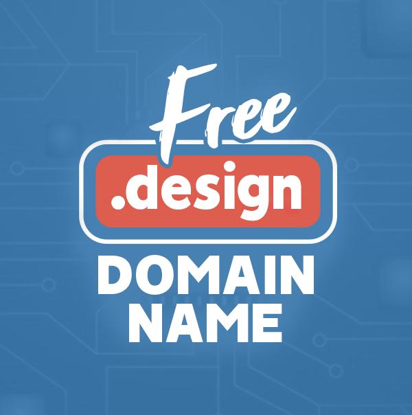 A Free .design Domain Name