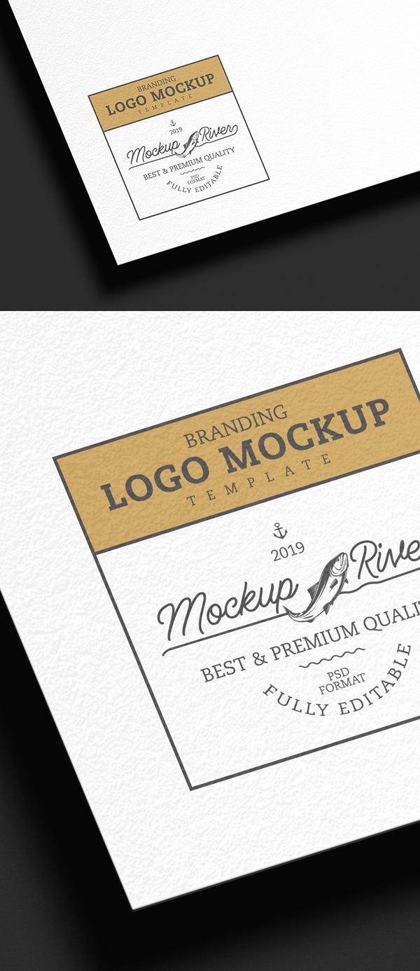 Free Branding Logo Mockup Template