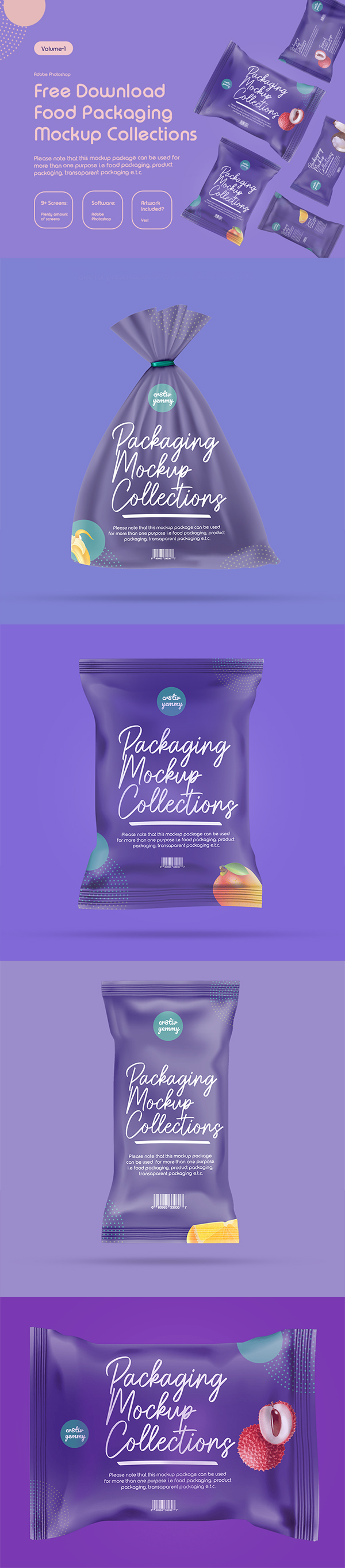 Packaging Mockups Collections