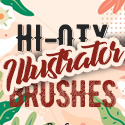 Post thumbnail of 22 High Quality Illustrator Brushes
