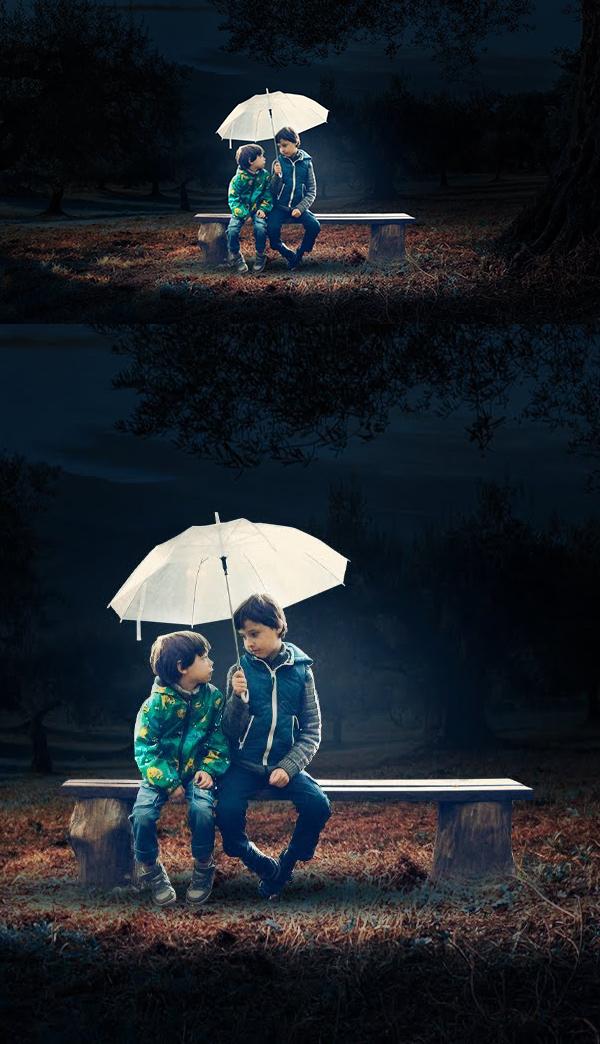 Amazing Umbrella Photoshop Manipulation And Concept Art Tutorial